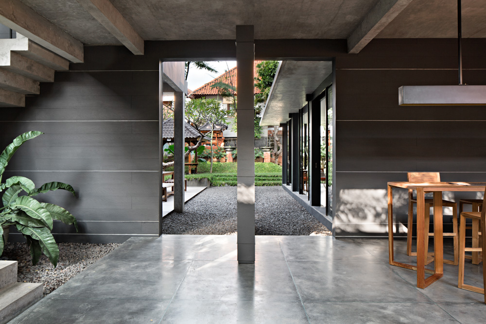Using Polished Concrete Floor To Create Contemporary Look On